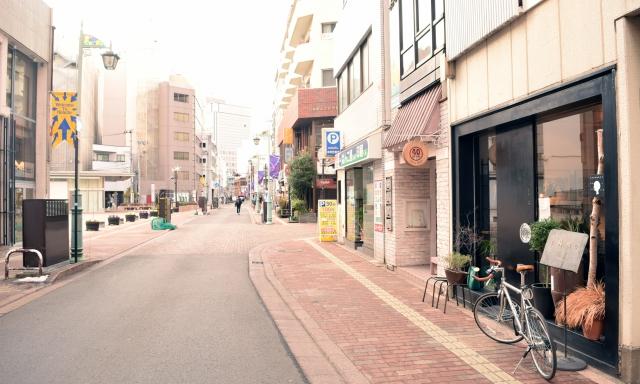 中心部商店街   まちくる仙台